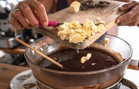 Raw Chocolate Making