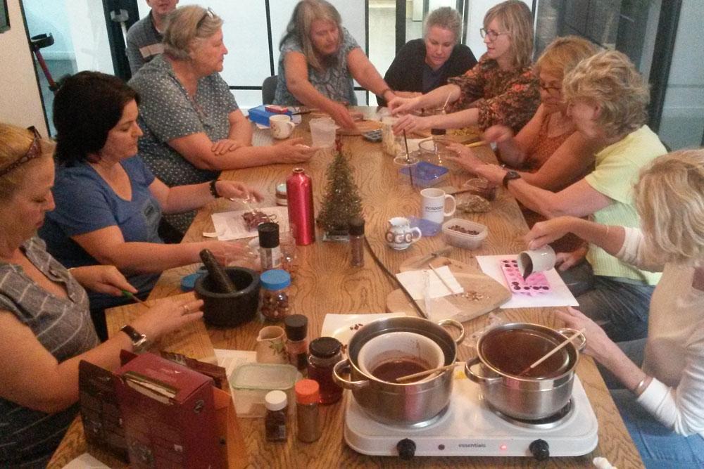Raw Chocolate Making Fran Siebrits